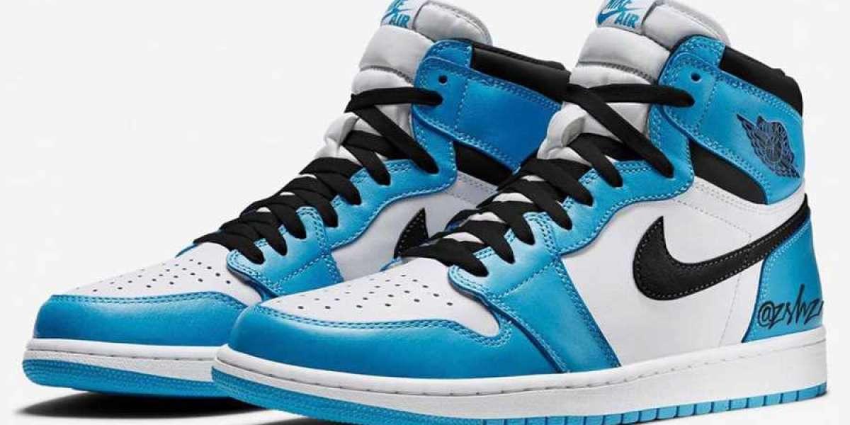 """Air Jordan 1 High OG """"University Blue"""" 555088-134 will be released on February 20, 2021"""